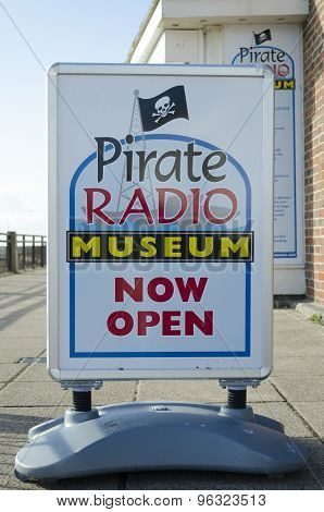Pirate radio museum.