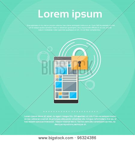 Smart Phone Lock Screen Data Privacy Protection