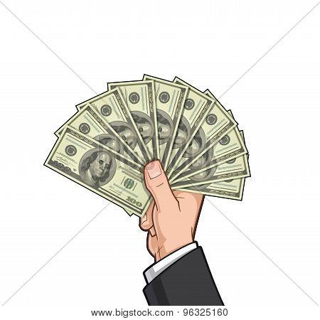 Hands Showing Money 2