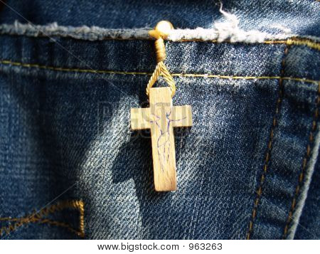 A Rosary In Jeans' Pocket