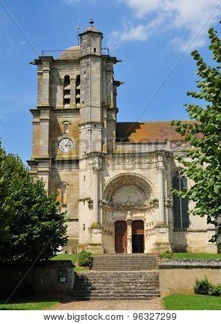 Oise, The Historical Church Of Montjavoult