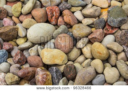 Granite in close up