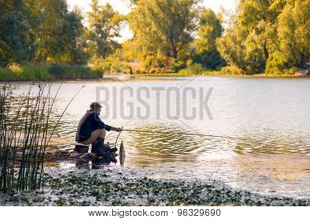 Fishing In The River