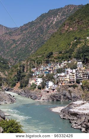 Devprayag Is The Last Prayag Of Alaknanda River And From This Point The Confluence Of Alaknanda And