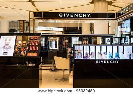Givenchy store in Siam Paragon Mall.