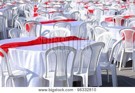 Preparation For Banquet