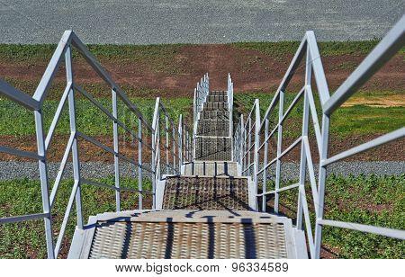 Construction Metal Ladder.
