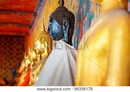 Buddha Statue at Wat Arun - the Temple of Dawn in Bangkok, Thailand