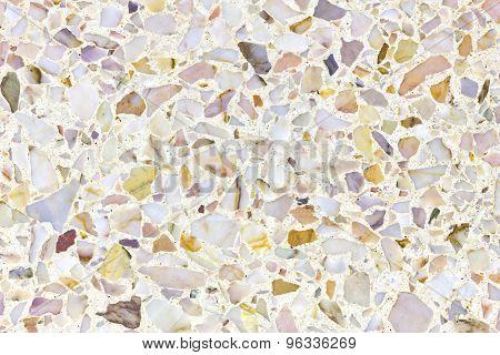 Terrazzo floor