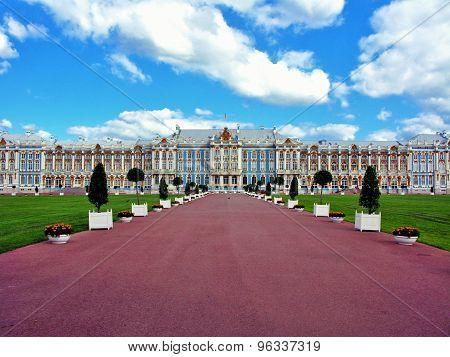 Tzarskoe Selo Catherine Palace