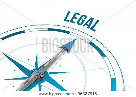 The word legal against compass