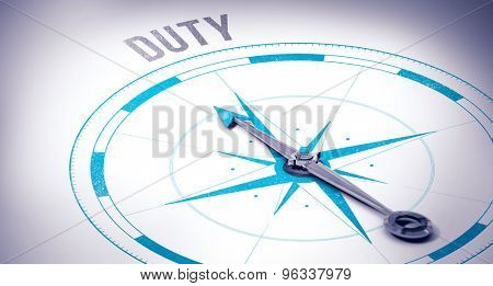 The word duty against compass