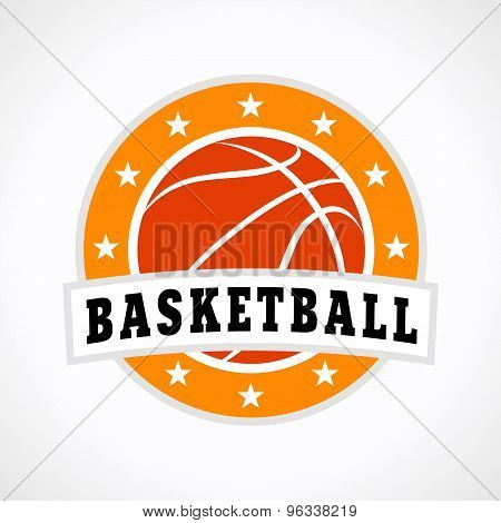 basketball emblem logo