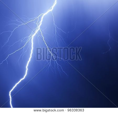 Dramatic Lightning Strike