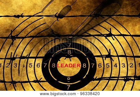 Leader Target Concept Against Barbwire