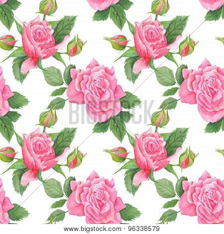 Shabby Chic Watercolor Pattern