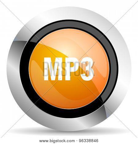 mp3 orange icon