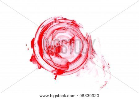 Blood Splatter Isolated.