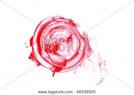 Blood Splatter Isolated.