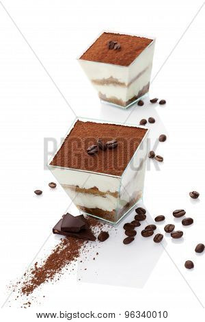Luxurious Tiramisu Dessert.