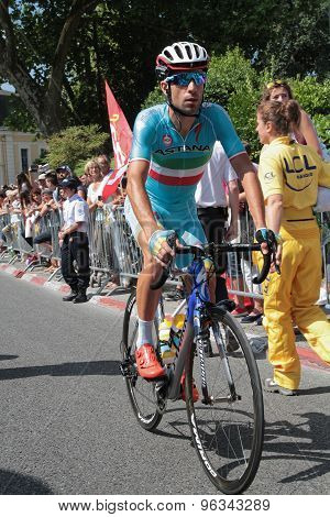 Vincenzo Nibali, former winner of Tour de France