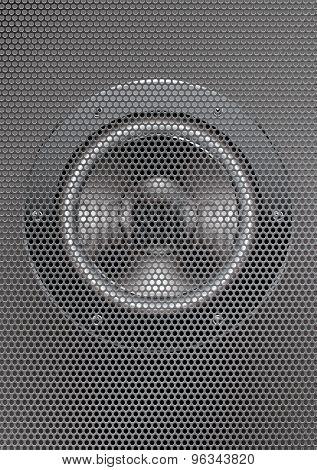 vector speaker illustration