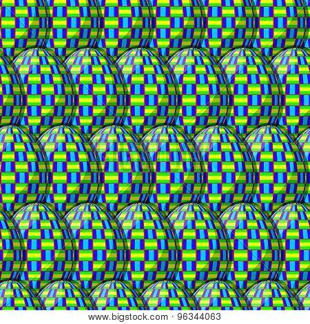 Egg Interlace Pattern