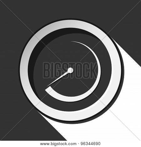 Black Icon - Dial With Shadow