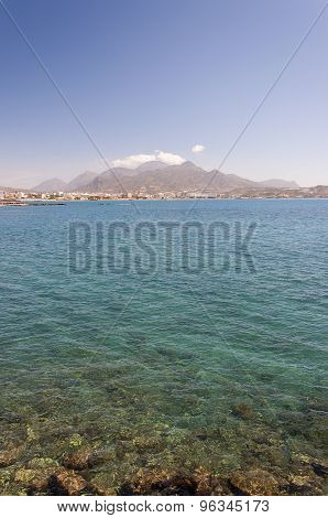 Lerapetra From Across The Bay