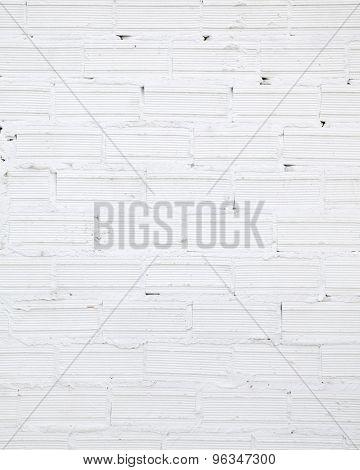 grunge white brick wall