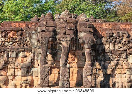 Terrace of the Elephants, Cambodia