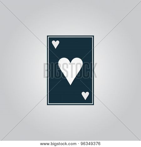 Hearts card icon