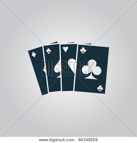 Game cards icon