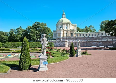 Oranienbaum (Lomonosov). Saint-Petersburg. The Grand Menshikov Palace