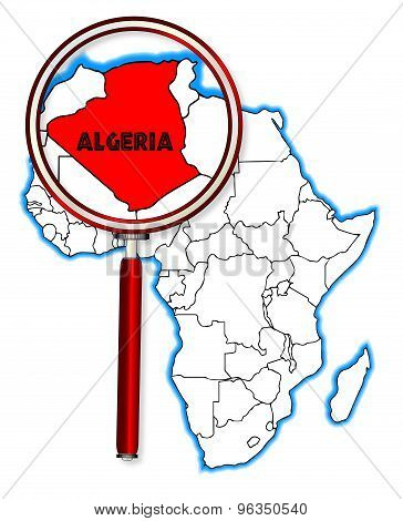 Algeria Under The Magnifying Glass