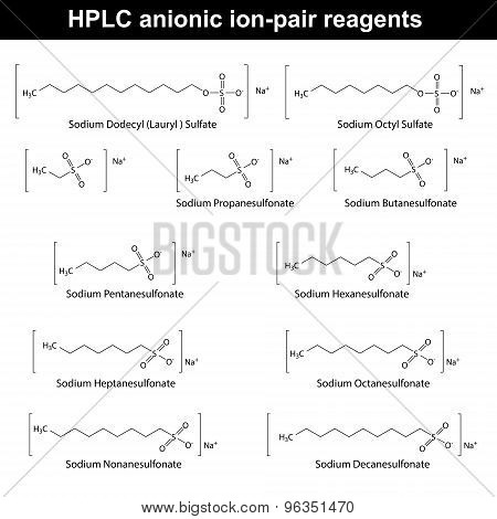 Hplc Anionic Ion Pair Reagents