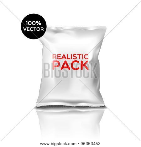 Realistic Pack Isolated Icon