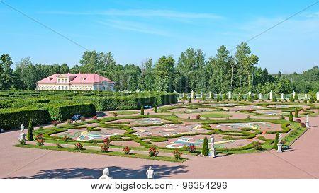 Oranienbaum (Lomonosov). Saint-Petersburg. The Lower Regular Garden