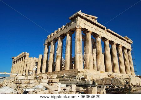 Parthenon In Acropolis