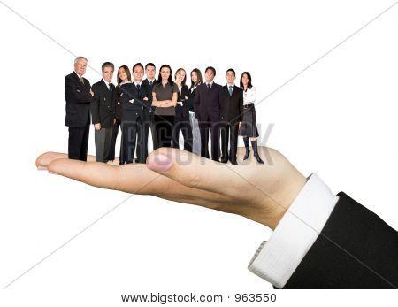 Praktische Business-Team