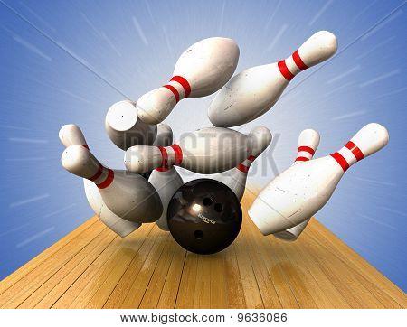 Ten Pin Bowling 9