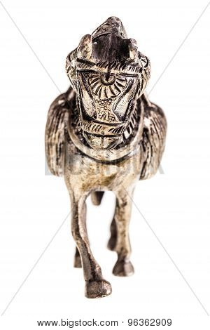 Metal Horse Figurine