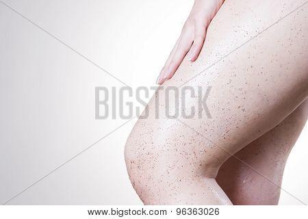 Body Care, Skin Peeling Legs
