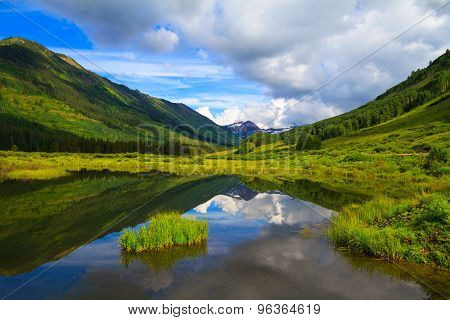 Slate River At Crested Butte, Colorado