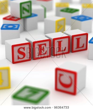 Colorful Block - Sell