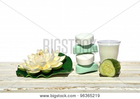 Soaps With Cucumber And Milk