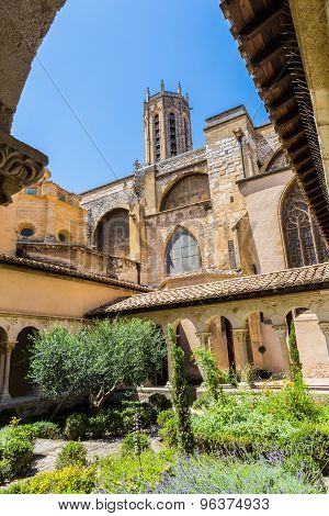 Cathedral Cloister In Aix-en-provence
