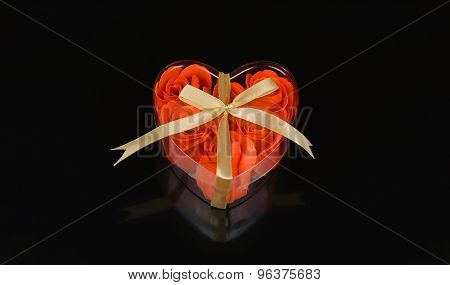 Roses In Heart Shape