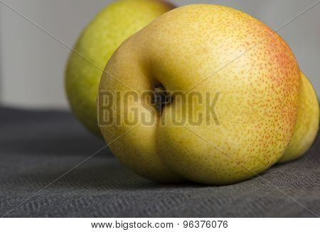 Pear On The Table Lies Humor
