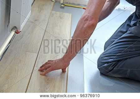 Hands Of The Carpenter Line Is Measured